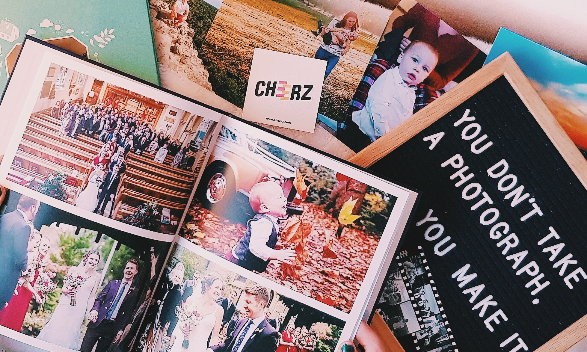 Photobook from Cheerz