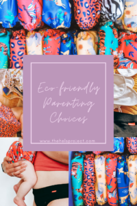 Eco-friendly parenting choices